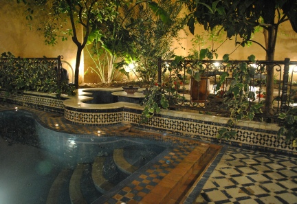 riad medina fez relax by the pool
